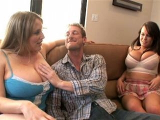 Brandy Talore and maggie green, two sluts with big