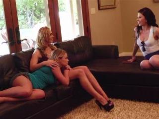 Tanya Tate threesome with Brooklyn Lee and Heather