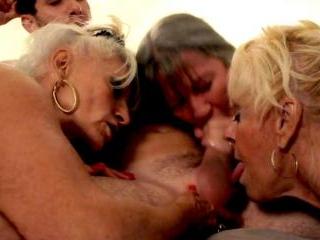 Granny nursing home orgy