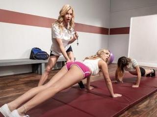 Exercising Her Ass Off