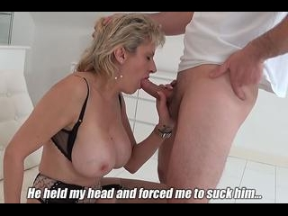 I Had No Choice But To Suck His Cock