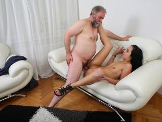 Tracy can\'t believe her luck when the old guy deci