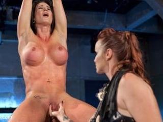 Bella Rossi Electrosexes First Time Lesbian Virgin
