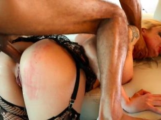 Leya Falcon takes BCC in her ass then a hot load
