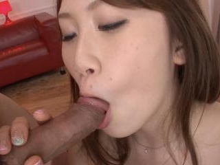 Pretty Japanese girl gets the gangbang of her life
