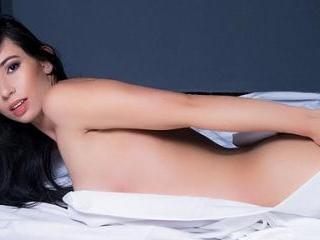 Hot Latina MiaJoness Stocking Tease