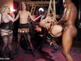 Masochistic Anal Sluts Suffer and Squirt For BDSM