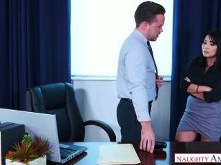 Naughty Office - Rina Ellis & Kyle Mason