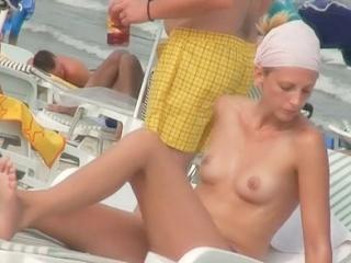 The exciting bikini voyeur movie featuring cute am