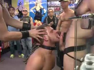Naked stud bound, beaten and humiliated at Dore Al