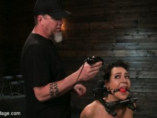 Sex Slave Lilith Luxe Humiliated with Head Shaving