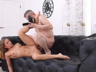 Perky porn casting first-timer