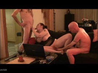 Web Camming With 2 Older Guys Pt6