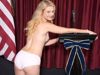 Pussy At The Podium