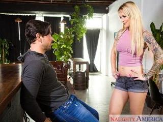 My Wife\'s Hot Friend - Sammie Six & Ryan Driller