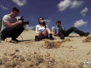 BTS Gabi Paltrova In The Desert