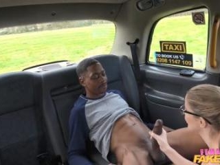 Back Seat Blowjob For Lucky Stud