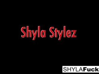 Shyla Takes A Big Cock