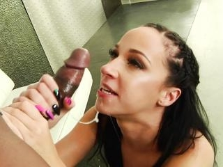 Jada Stevens Interracial Cock Sucker