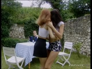 Stracy Stone and  Kristy Lust in Two girls with o