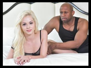 Tiny Blonde Goes Black