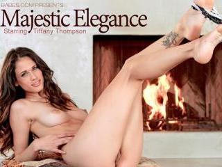Tiffany Thompson in Majestic Elegance