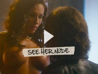 Aria\'s massive mams could keep anyone afloat!