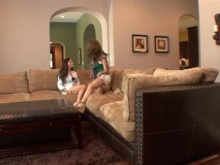 Taylor Vixen & Emily Addison make out and eat out