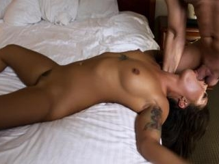 Hot Babe Gets Her Face Fucked