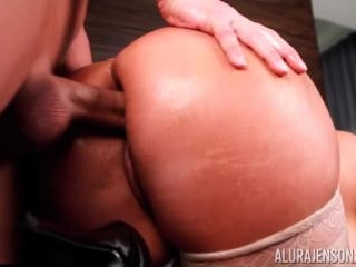 Alura Jenson Takes Christians Cock in Her Ass