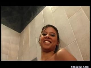 Mahe  : Very first peeing and golden shower video