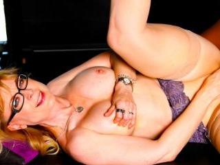 Porn legend Nina Hartley gets interracial in her s