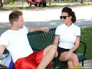 Topless Tennis