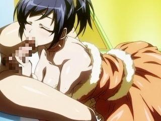 Crazy comedy anime movie with uncensored bondage,