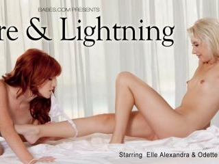 Odette Delacroix in Fire & Lightning