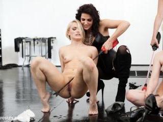 Bobbi Starr & Maitresse Madeline Break Down Two Bl