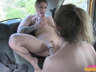 Sexy Driver Gets Some Student Cock
