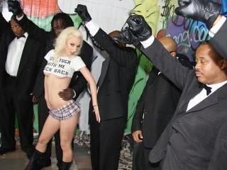 Jada Stevens - Interracial Blowbang