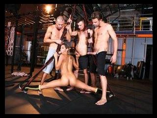 Rocco\'s Fitness Sluts: DP Edition