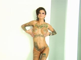 Bonnie Rotten in Bonnie Rotten in Hot Body Ink and