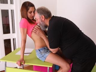 Ulia is a sexy young student who is having school