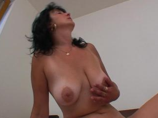 Hot cock riding and pussy fingering video here