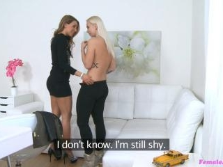 Tattooed Blonde Makes a Sexual Deal