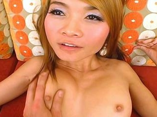 19 year old Apple, a showgirl from Bangkok gets he