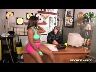 Kara Kane in Kara Auditions For A Dancing Joba