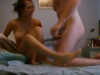 This couple filmed while fuck