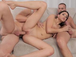 Amelia Lyn enjoys doubly