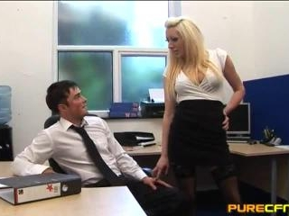Office Blindfold Trick