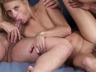 Vanessa Gets Double The Dick - Vanessa, Jonesy & C