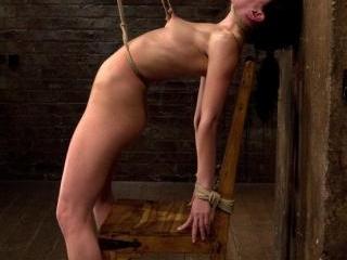 Brutal nipple pulling, slow strangulation, extreme